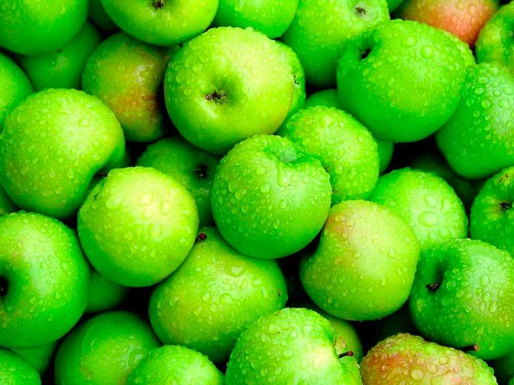 Диета на зеленых яблоках